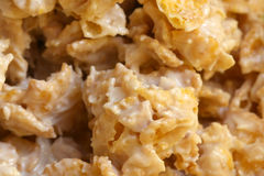 Cornflakes with white Chocolate II Royalty Free Stock Photos