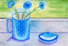 cornflowers Стоковые Изображения