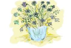 cornflowers стоковое фото rf