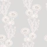 Cornflowers background. Seamless background with cornflowers ornament Stock Image