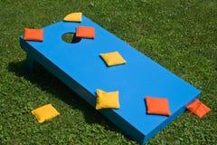 cornhole παιχνίδι στοκ φωτογραφία με δικαίωμα ελεύθερης χρήσης