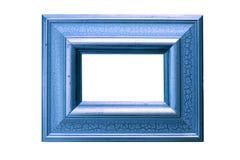 Cornice azzurrata Fotografia Stock Libera da Diritti