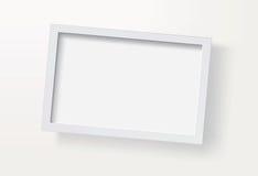 Cornice in bianco illustrazione vettoriale