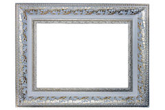 Cornice d'argento Fotografia Stock Libera da Diritti