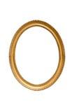 Cornice decorativa ovale Fotografie Stock