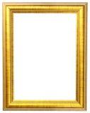 Cornice dell'oro Fotografia Stock