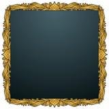Cornice della forcella - oro Fotografia Stock