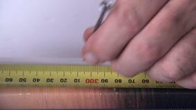 Cornice della riparazione 1 video d archivio