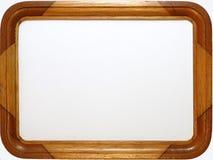 Cornice di legno fotografia stock libera da diritti