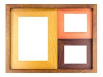 Cornice di legno Immagini Stock