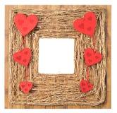 Cornice di simbolo di amore Fotografia Stock