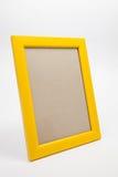 Cornice gialla Fotografia Stock Libera da Diritti