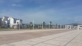 Cornice M diq ,M diq beach ,morocco. Cornice M diq ,Mdiq park, mediterranean ,north of morocco stock photos