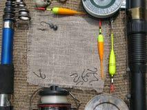 Cornice per il pescatore Fotografia Stock Libera da Diritti