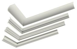 Cornice profile Stock Images