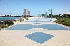 Corniche in Abu Dhabi Lizenzfreie Stockbilder