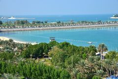 Corniche, Abu Dhabi Stock Photography