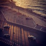 Corniche (Alexandria) Fotografia de Stock Royalty Free