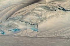 Corniche antarctique de glace Photo libre de droits