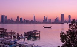 Corniche d'Al Ghous Photo stock