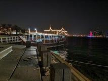 Corniche de Doha Image libre de droits