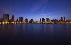 Corniche de Sharjah imagem de stock royalty free