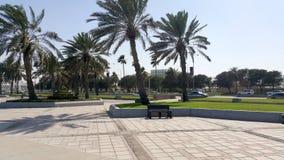 Corniche, Doha, Katar Zdjęcie Stock