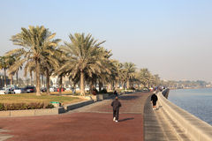 Corniche of Doha, Qatar Stock Photo