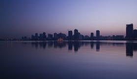 Corniche du Charjah images stock