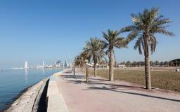 Corniche in Kuwait Stock Photo