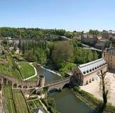 corniche luxembourg visar fotografering för bildbyråer