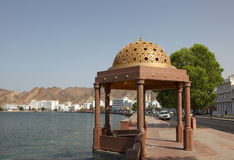Corniche of Muttrah, Oman Stock Images