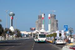Corniche w Abu Dhabi Zdjęcia Royalty Free