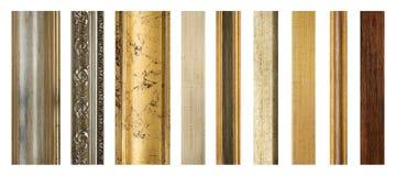 Cornici di legno Immagine Stock