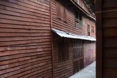 Cornici di legno di retro stile Immagini Stock Libere da Diritti