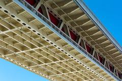 Cornicione del ponte Fotografia Stock