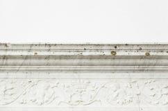Cornicione della pietra decorativa Fotografie Stock