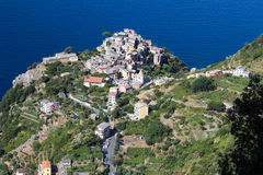 Cornigiia, Cinque Terre, Italië Royalty-vrije Stock Fotografie