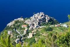 Cornigiia Cinque Terre, Italien Royaltyfri Foto