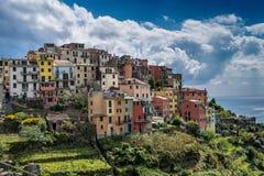 Corniglia五乡地意大利 库存图片