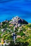Corniglia, Cinque Terre,意大利 免版税库存照片