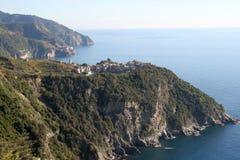Corniglia, Cinqueterre,意大利 免版税库存图片