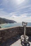 Corniglia, Лигурия, Италия Стоковое Изображение RF