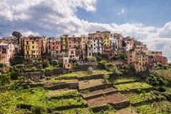 Corniglia Cinque Terre Ιταλία Στοκ φωτογραφίες με δικαίωμα ελεύθερης χρήσης