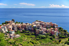 Corniglia, Cinque Terre royalty-vrije stock fotografie