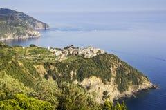 Corniglia Cinque Terre fotografía de archivo libre de regalías