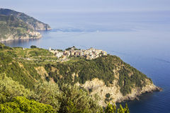 Corniglia Cinque Terre lizenzfreie stockfotografie