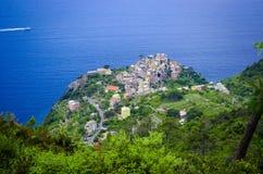 Corniglia Cinque Terre Fotografie Stock Libere da Diritti