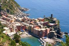 Corniglia, Cinque Terre, Italië Royalty-vrije Stock Afbeeldingen