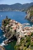 Corniglia, Cinque Terre, Italië Royalty-vrije Stock Fotografie